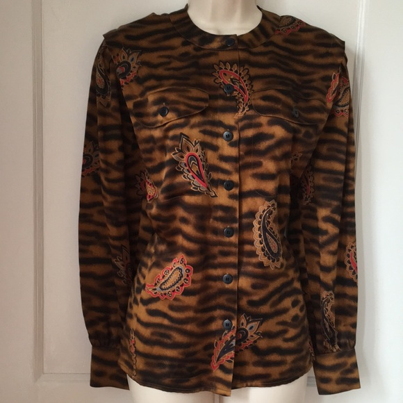 Esacada vintage blouse  jacket Size M